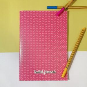 bullet journal rosa