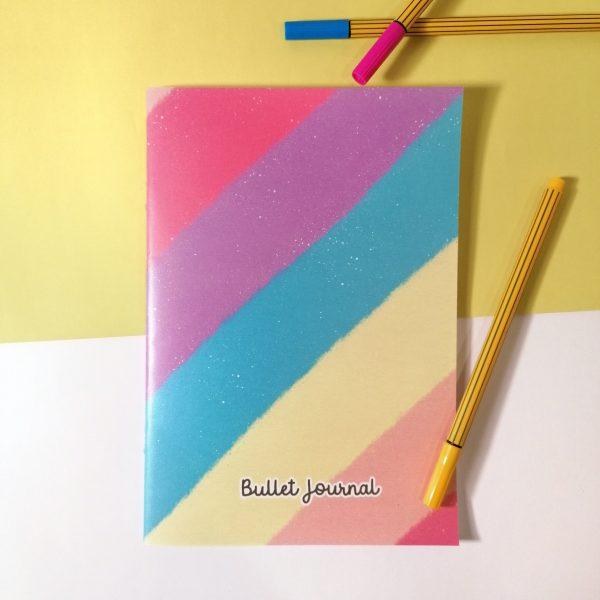 bullet journal rainbow