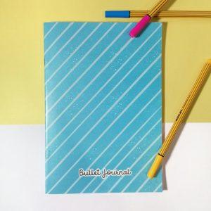 bullet journal azul