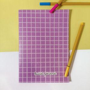 bullet journal roxo